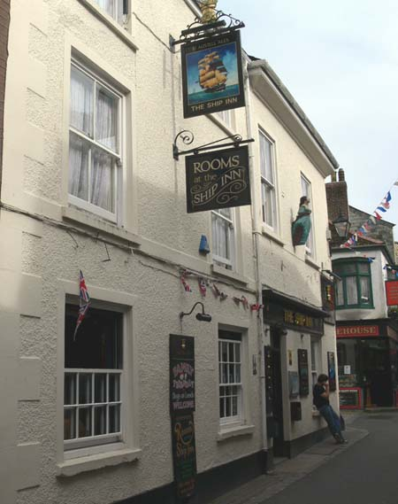 East Looe - Ship Inn - Wilkie Collins