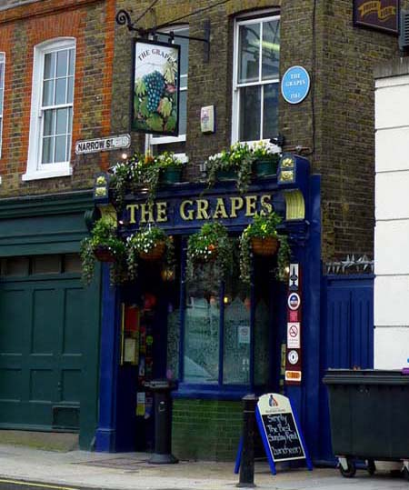 Limehouse – The Grapes – Charles Dickens
