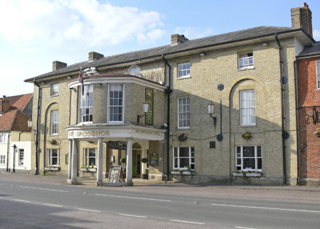 Gosvenor Hotel - Stockbridge - Hampshire - H.G. Wells