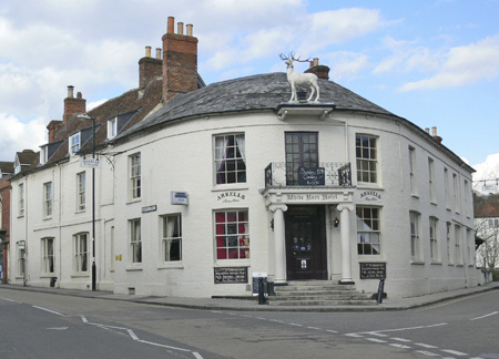 White Hart - Whitchurch - Hampshire - Charles Kingsley, Lord Denning