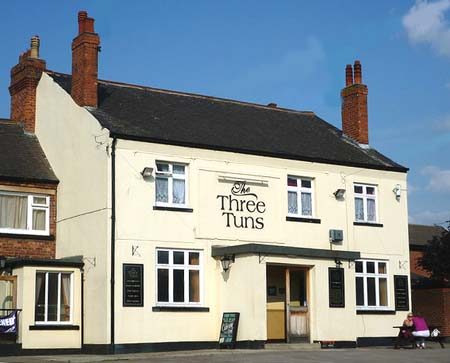 Eastwood - Three Tuns - D. H. Lawrence