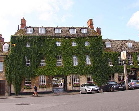 The Bear - Woodstock - Oxfordshire - Colin Dexter, Nathaniel Hawthorn